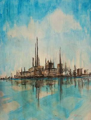 Painting - Reflected Rust by Vic Delnore