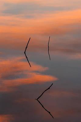 Reflected Sunrise Art Print by Monte Stevens