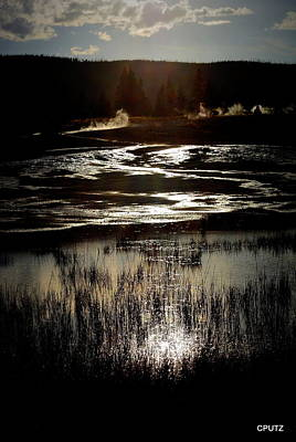 Photograph - Reflected Sunset by Carrie Putz