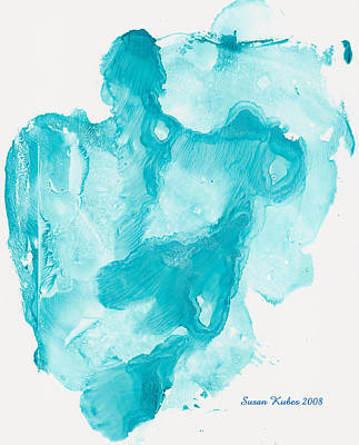 Reflectiing Angels Art Print by Susan Kubes