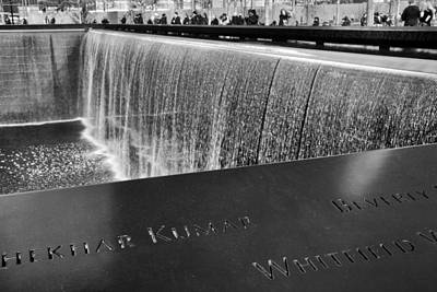 Ground Zero Photograph - Reflecting Absence by Jessica Jenney