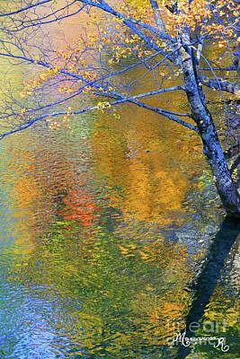 Photograph - Reflecting Autumn by Mariarosa Rockefeller