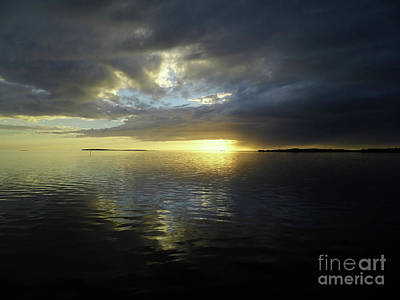 Photograph - Reflecting Beauty At Sunset by D Hackett