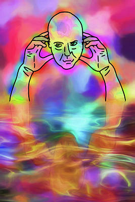 Digital Art - Reflecting Contemplation by John Haldane