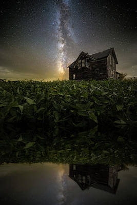Photograph - Reflecting, Darkly  by Aaron J Groen