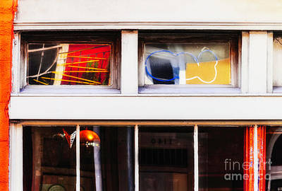Photograph - Reflecting In Windows by Frances Ann Hattier