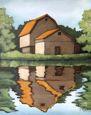 Painting - Reflecting by Inese Poga