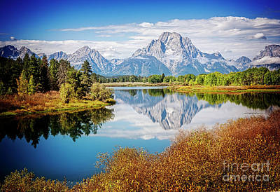 Photograph - Reflecting Mt. Moran by Scott Kemper
