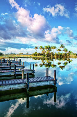 Photograph - Reflecting On Blue by Debra and Dave Vanderlaan