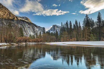 Photograph - Reflecting On Half Dome by Dan McGeorge