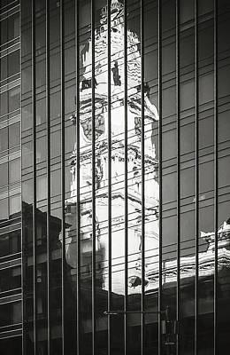 Photograph - Reflecting On History_print 26x40 by Eduard Moldoveanu