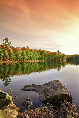 Photograph - Reflecting On Lake Of Bays by Karl Anderson