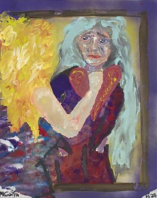 Reflecting On Nan Original by Matthew Landry
