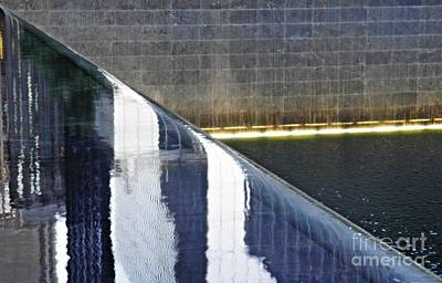 11 Memorial Photograph - Reflecting On Nine Eleven 3 by Sarah Loft