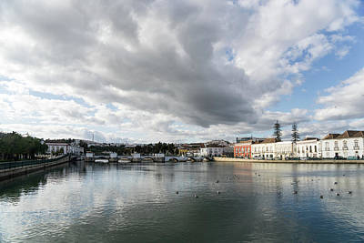 Photograph - Reflecting On Tavira Algarve Portugal by Georgia Mizuleva