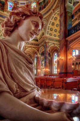 Reflecting On That Which Is Holy Art Print by Peter Herman