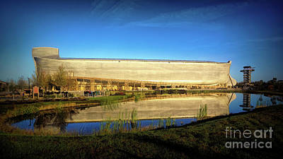 Photograph - Reflecting On The Ark by Sue Melvin