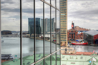 Baltimore Md Photograph - Reflecting On The Chesapeake  by JC Findley