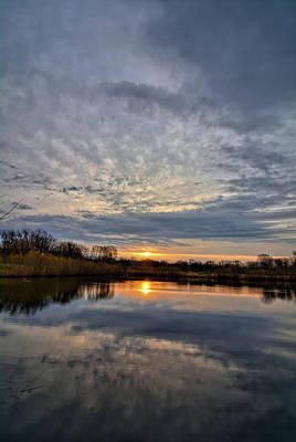 Photograph - Reflecting On The Morning 2 by Bonfire Photography