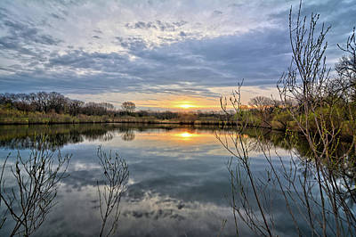 Photograph - Reflecting On The Morning by Bonfire Photography