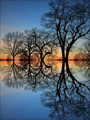 Photograph - Reflecting On Tonight by Chris Berry