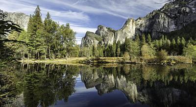 Reflecting On Yosemite Art Print