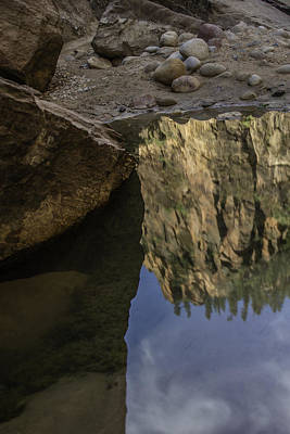 Photograph - Reflecting On Zion  by John McGraw