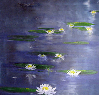 Painting - Reflecting Pond by Gary Smith