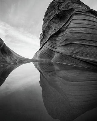 Photograph - Reflecting Pool At The Wave by James Udall