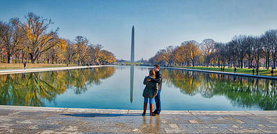 Photograph - Reflecting Pool by Farol Tomson