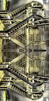 Jonny Jelinek Royalty-Free and Rights-Managed Images - Reflecting Stairs by Jonny Jelinek