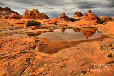 Reflecting The Buttes Art Print