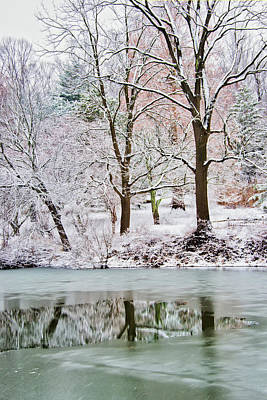 Photograph - Reflecting The End Of Winter by Gary Slawsky