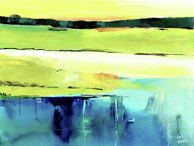 Painting - Reflection 1 by Anil Nene