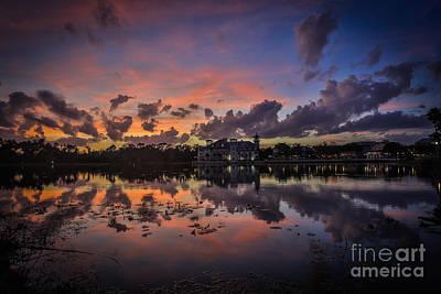 Photograph - Reflection 8 by Mina Isaac