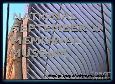 Photograph - Reflection And Remembrance by Tami Quigley
