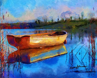 Reflection Print by Anthony Caruso