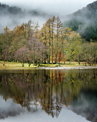 Photograph - Reflection At Loch Lubnaig by Nancy Lisa Phillips