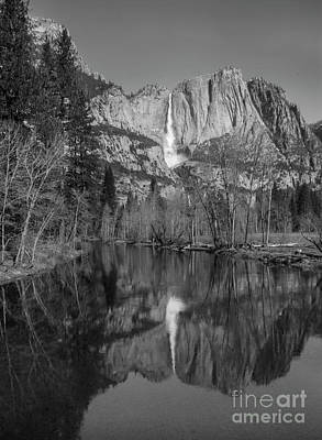 Photograph - Reflection At Swinging Bridge by Richard Verkuyl