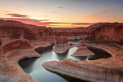 Photograph - Reflection Canyon by Johnny Adolphson