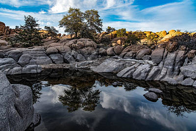 Photograph - Reflection Cove by Brian Oakley Photography