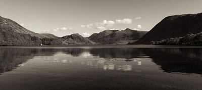 Lake District Photograph - Reflection by Dave Valler