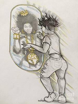 Appreciate Drawing - Reflection  by Gregory Taylor