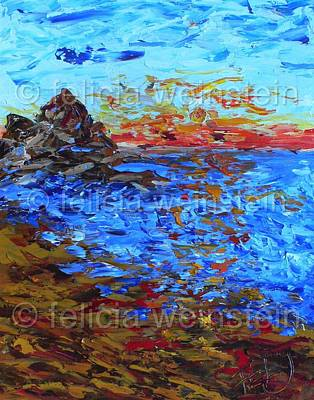 Painting - Reflection II by Felicia Weinstein