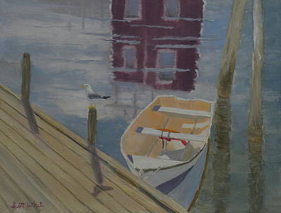 Painting - Reflection In Red by Scott W White