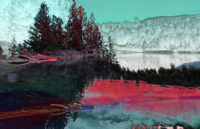 Photograph - Reflection In The Lake by David Pantuso