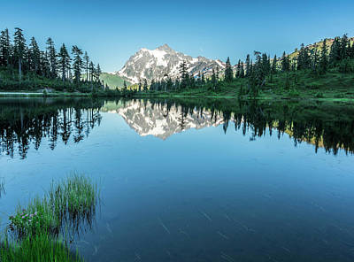 Outdoor Photograph - Reflection In The Lake by Jon Glaser