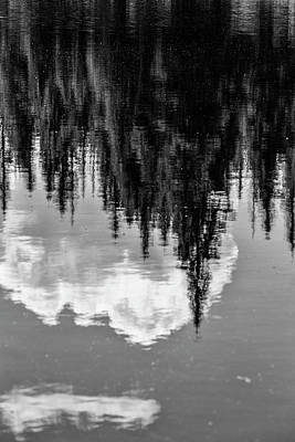 Photograph - Reflection In The Rockies  by John McGraw