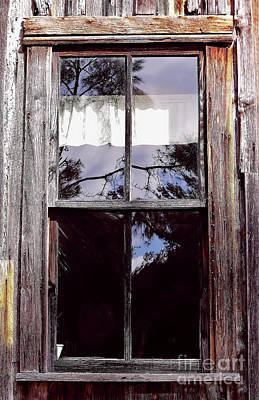 Photograph - Reflection - In - The - Window  by D Hackett