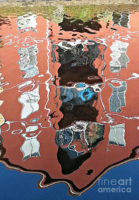 Photograph - Reflection In Water by Ethna Gillespie
